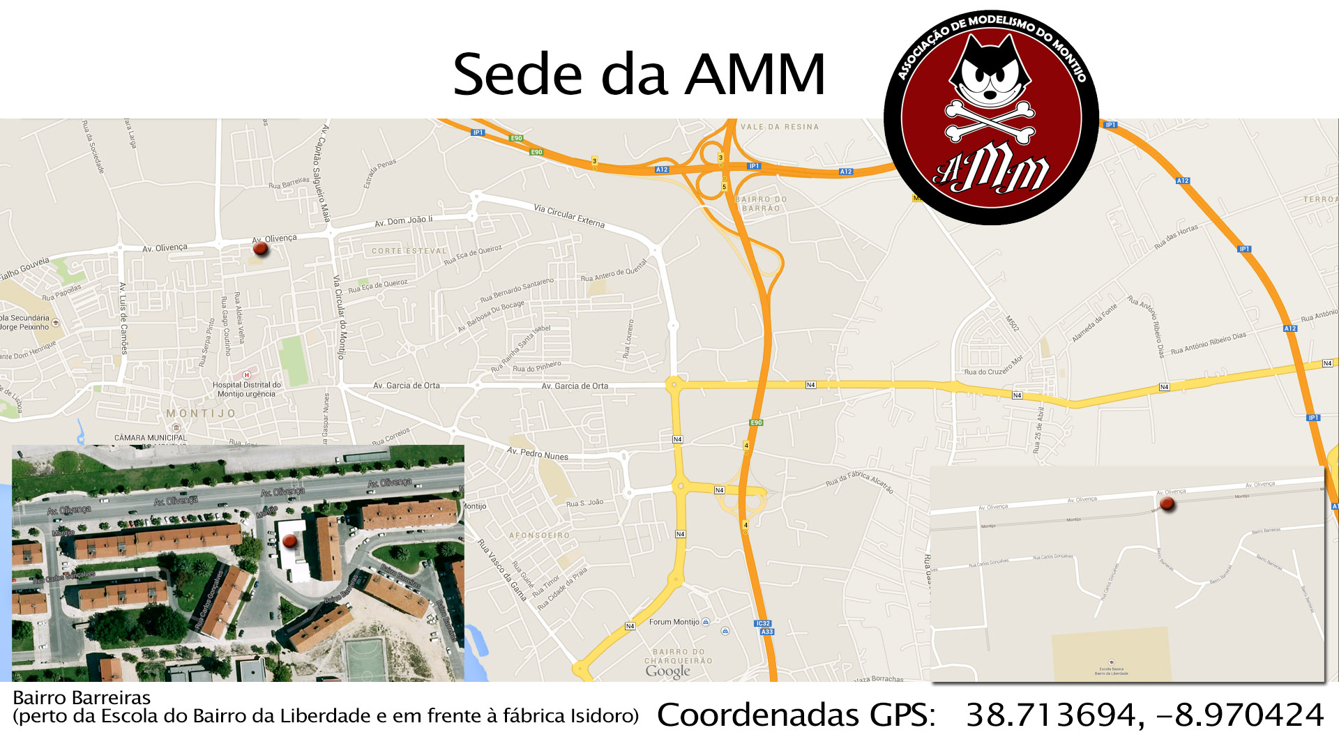 Mapa da Sede AMM